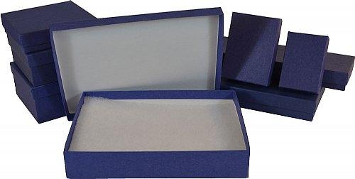 Dark Blue Jewelry Boxes